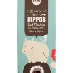 Dreamy Hippos Dark Chocolate Sea Salt Caramel