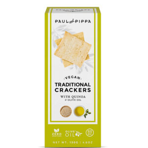 Vegan Crackers with Quinoa