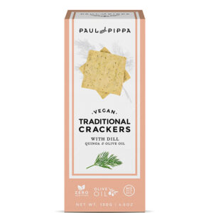 Vegan Crackers with Dill