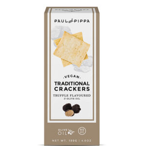 Vegan Crackers with Black Truffle