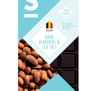 Dark Belgian Chocolate Almonds & Sea Salt