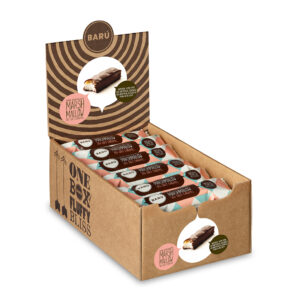 Marshmallow Bar Dark Chocolate & Sea Salt Caramel Display